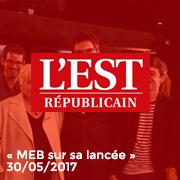 L'Est Républicain 30/05/17