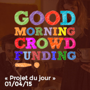 Good Morning Crowdfunding 01/04/15