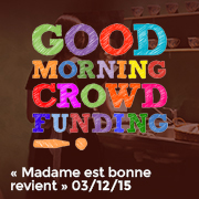 Good Morning Crowdfunding 03/12/15
